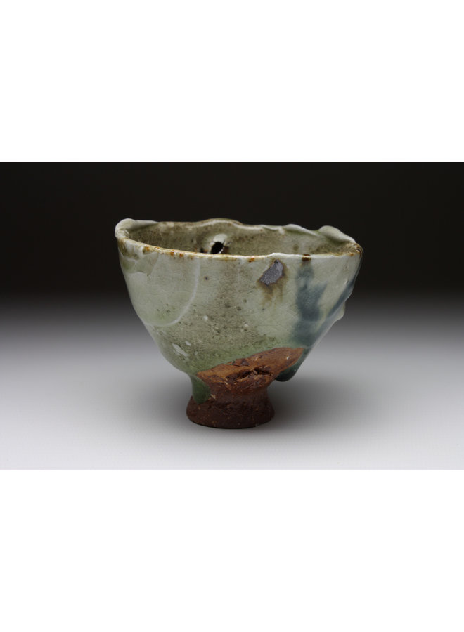 Small Cup  wood fired stoneware ash glaze 011
