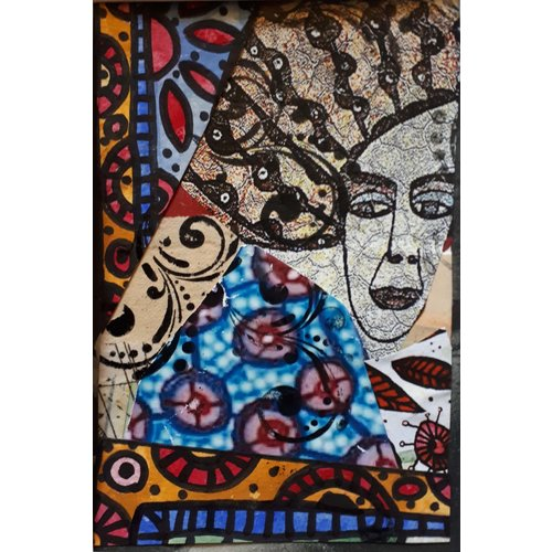Karen Billing And Then I Cracked  - Collage  05
