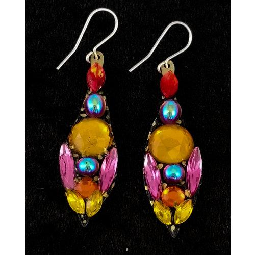 Annie Sherburne Vintage Large Drop Earrings 146