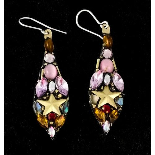 Annie Sherburne Vintage Large Drop Earrings 144