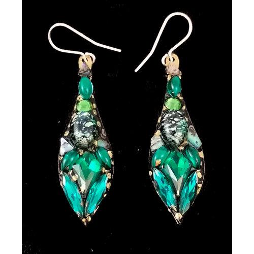 Annie Sherburne Vintage Large Drop Earrings 141