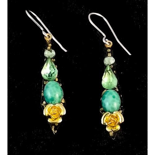 Annie Sherburne Vintage small drop earrings 126