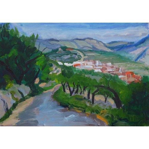 Dorothy Simister Weg nach Benimaurellee, Valencia 03