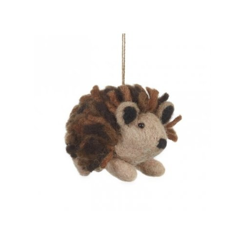 Felt So Good Hedgehog  Felt  Ornament  08