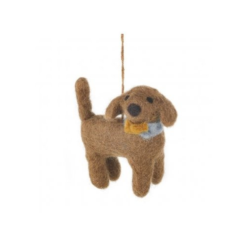 Felt So Good Sahara the Dog Felt  Ornament  07