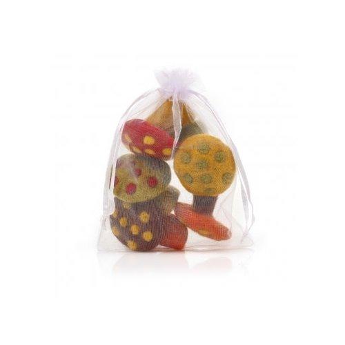 Felt So Good Mini Toadstools  freestanding Bag of 5 Felt  Ornament  02