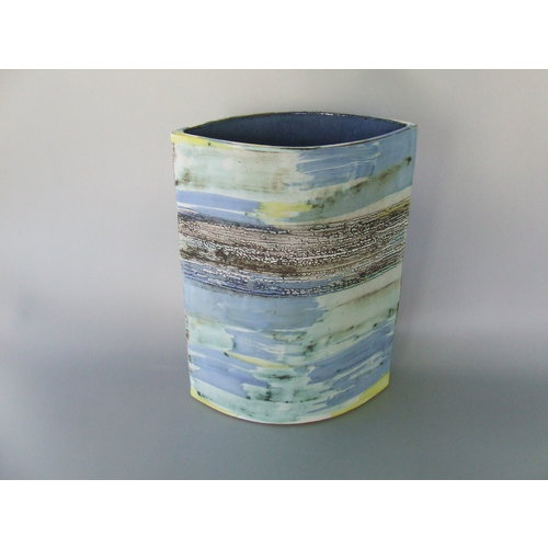 Dianne Cross Misty Shoreline Vessel    Stoneware   19