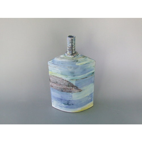 Dianne Cross Seashore Bottle 2    Stoneware   17