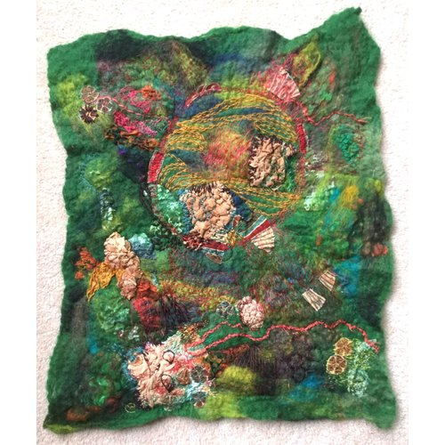 Claire Cooper-Walsh Meanderings of the Needle  embroidered textile 05