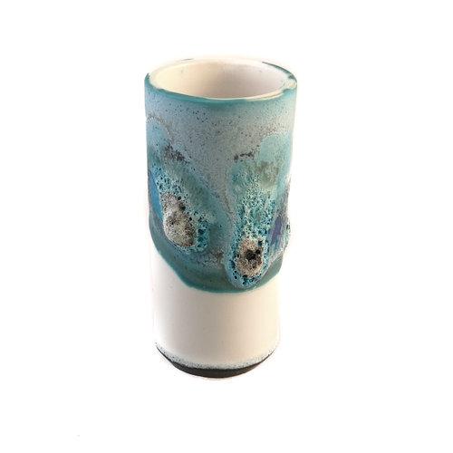 Anja  Stoneware Windowsill pod vase 18