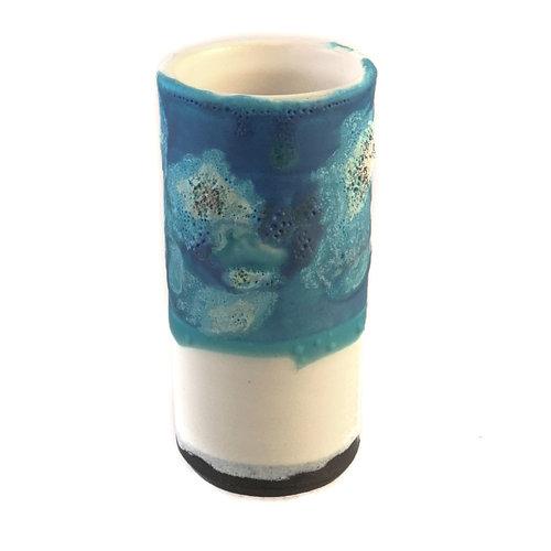 Anja  Stoneware Windowsill Pod Vase 11
