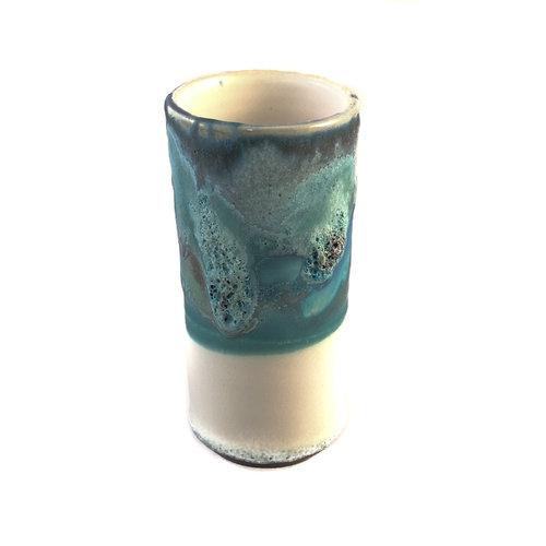 Anja  Stoneware Vaso de vaina de alféizar 10