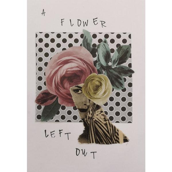 Eine Blume ausgelassen