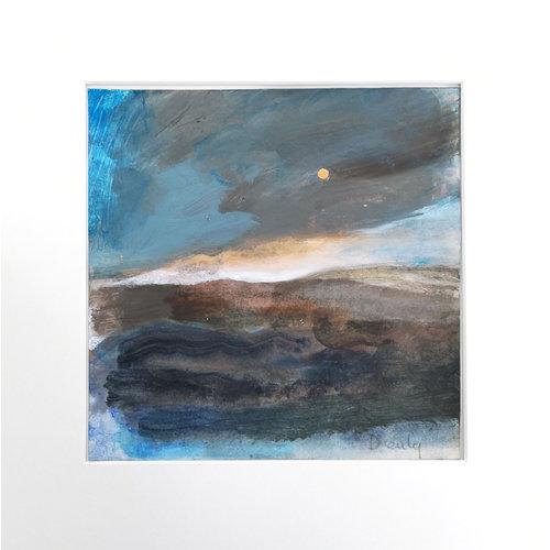 Jacquie Denby Stormy Skies Over Moors
