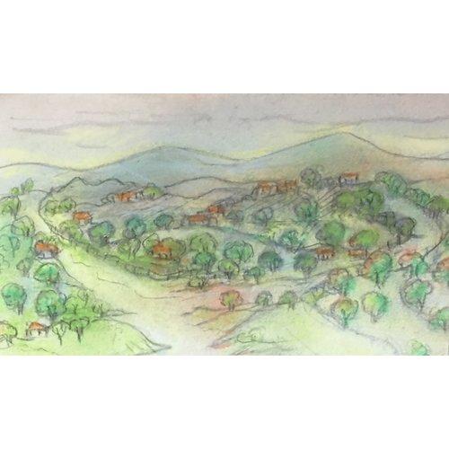 Ada McCune Camino al pueblo 06