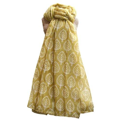LUA Leaves scarf  Cumin  243