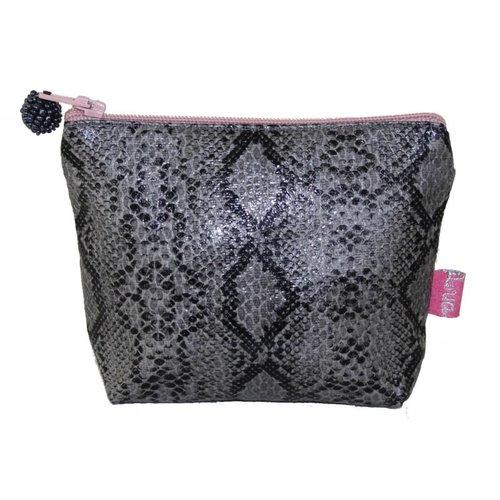 LUA Snakeskin mini purse Grey282
