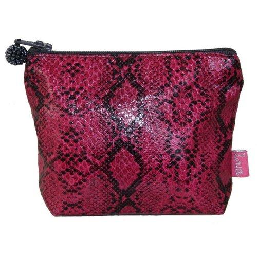 LUA Snakeskin mini purse Pink 281