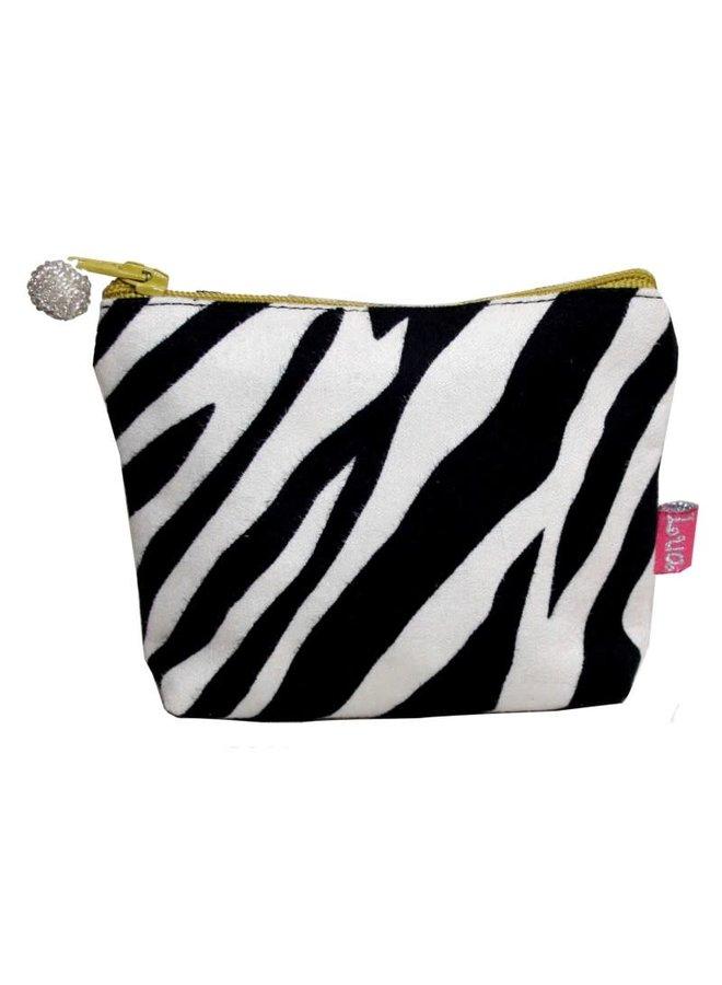 Mini Geldbörse Zebra 257