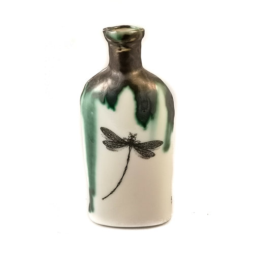 Jillian Riley Designs Dragonfly - Lydia Pinkham bottle 126