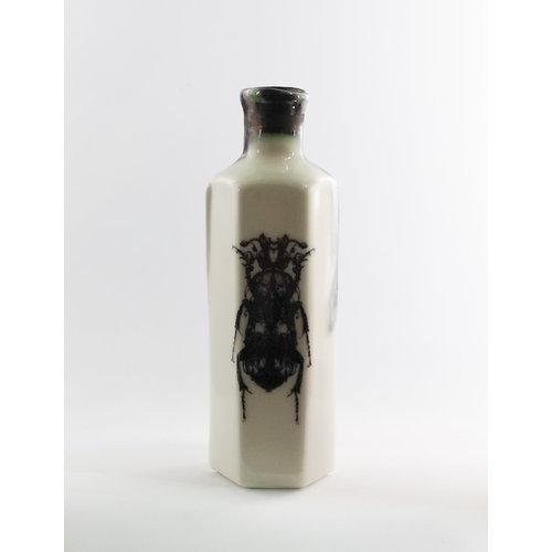 Jillian Riley Designs Botella de veneno hexagonal de error