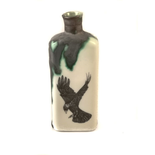Jillian Riley Designs Rook in Flight bottle 132