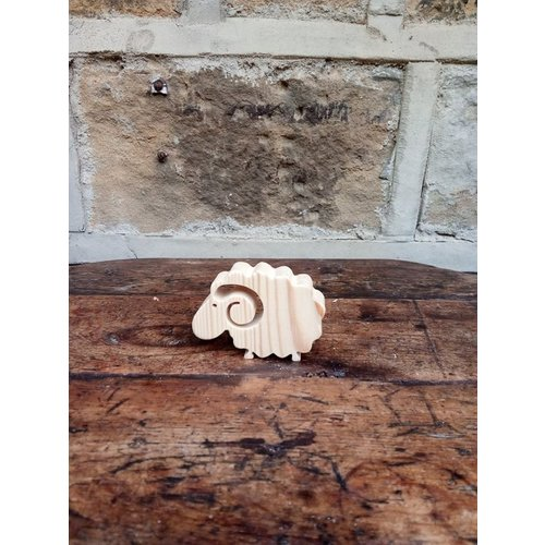 Woofer Wood Curly Sheep  12