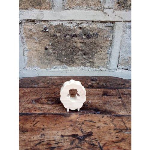 Woofer Wood Sheep Shape 11