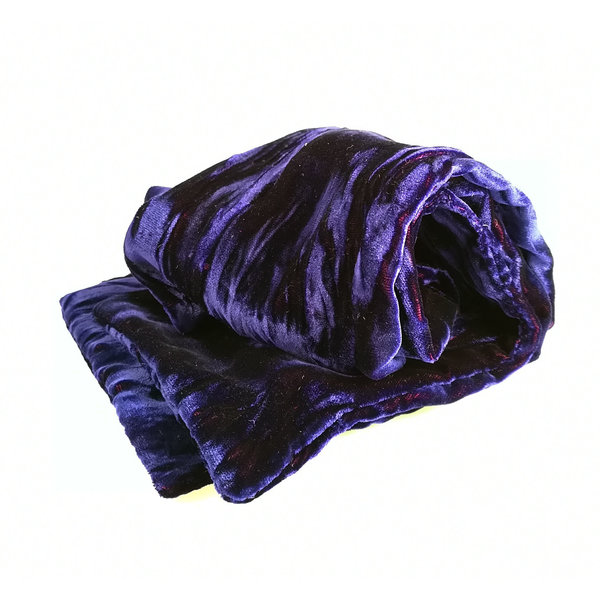Amethyst Irisierender Samtschal 094