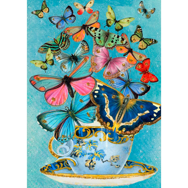 Butterfly Parade card