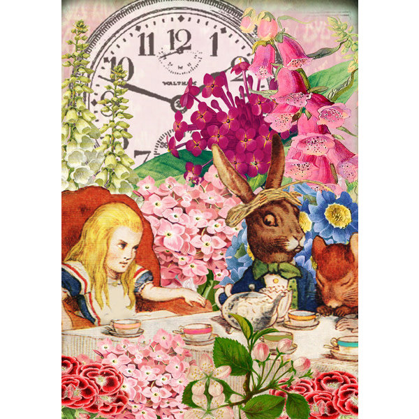Nearly Ten to Two Alice Card
