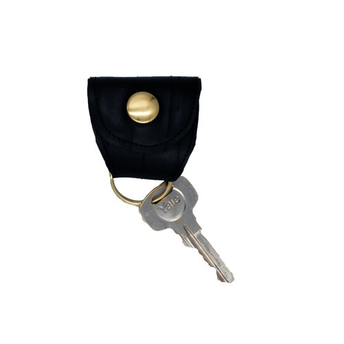 Cylcle Of Good Recycled Inner Tube Keyring Fob