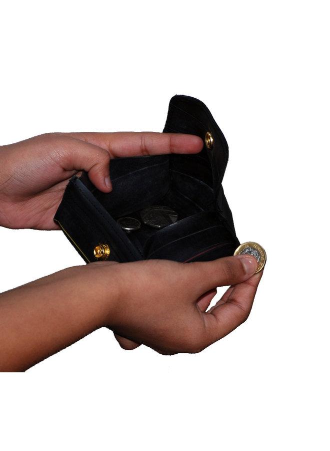 Aufbereitete innere Schlauch-Pop-upgeldbörse