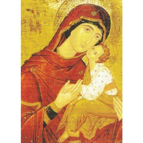 Artists Cards Byzantine Icon 16th Century  x5 Xmas Charity cards 180x140mm