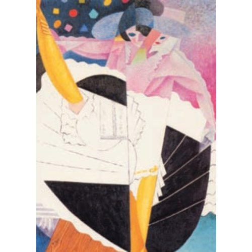Artists Cards Danseuse No 5 by Severini kaart 140x 180mm