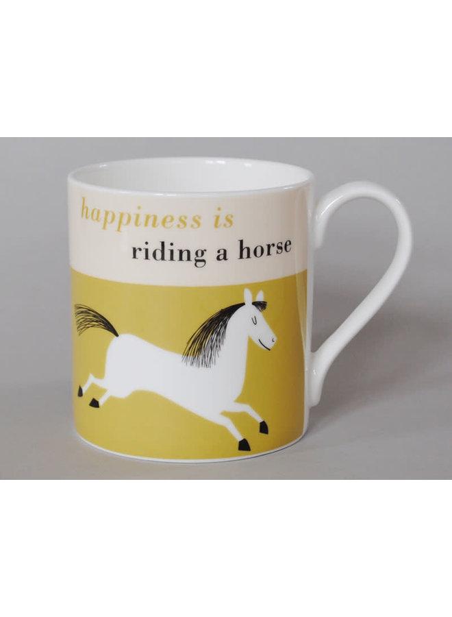 Happiness Large Mug Springpferd Olive 114