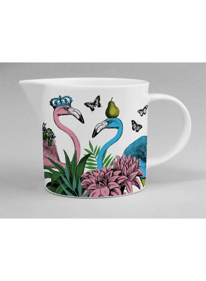 Dschungel-Flamingo-China-Krug 131