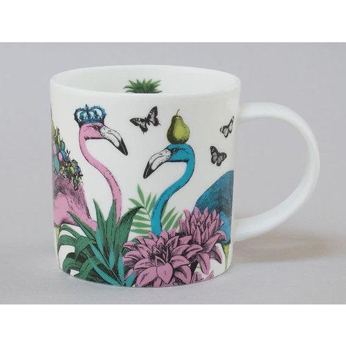 Repeat Repeat Jungle Flamingo China Mug White 122