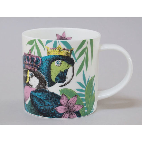 Repeat Repeat Jungle Toucan China Mug Blanco 127