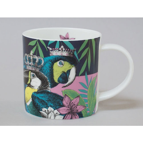 Repeat Repeat Jungle Toucan China Mug Dark 128