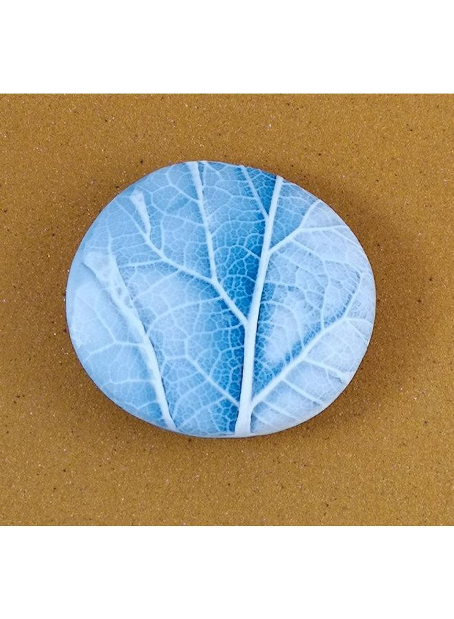 Doppelseitiger Prüfstein Medium 051 aus geprägtem Porzellan