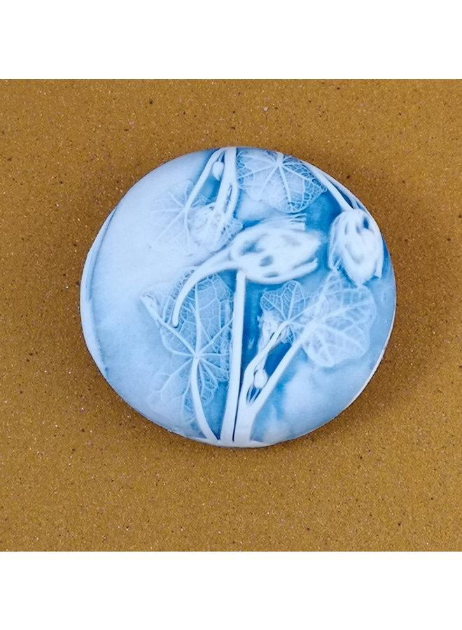 Doppelseitiger Prüfstein Medium 053 aus geprägtem Porzellan