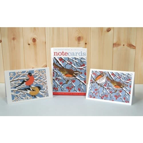 Art Angels Redwings and Bullfinches10 Notecards by Robert Gillmor