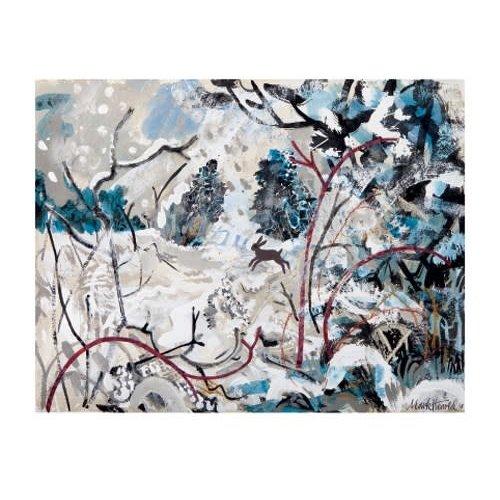 Art Angels Snow Bound by Mark Hearld