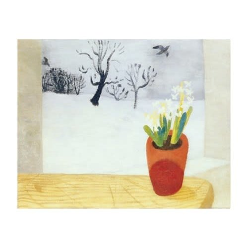 Art Angels Rooks, Hyacinth and Snow by Winifred Nicholson