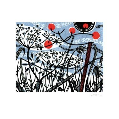 Art Angels Winter Spey de Angie Lewin