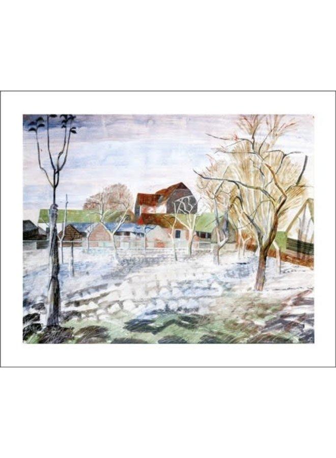 January, 10am by Edward Bawden