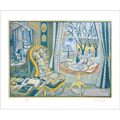 Art Angels Tea by Richard Bawden