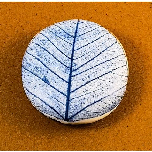 Clare Mahoney Doppelseitiger Prüfstein aus glattem Porzellan Large 071