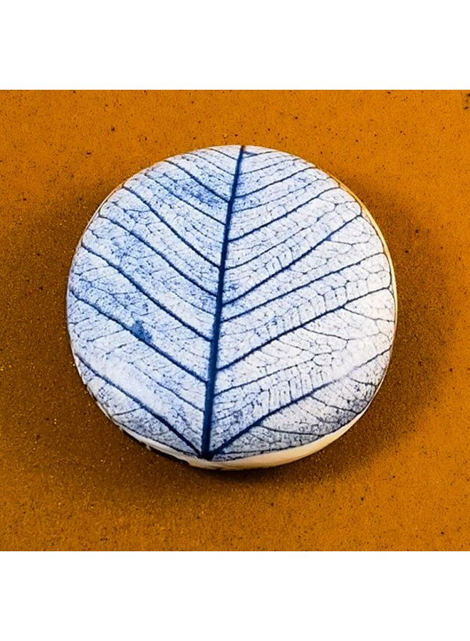 Doppelseitiger Prüfstein aus glattem Porzellan Large 071